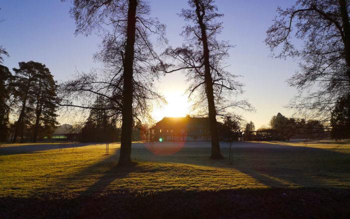 Golf du Sporting Club Vichy - gelée matinale