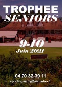 Affiche Trophée Séniors 9-10 Juin