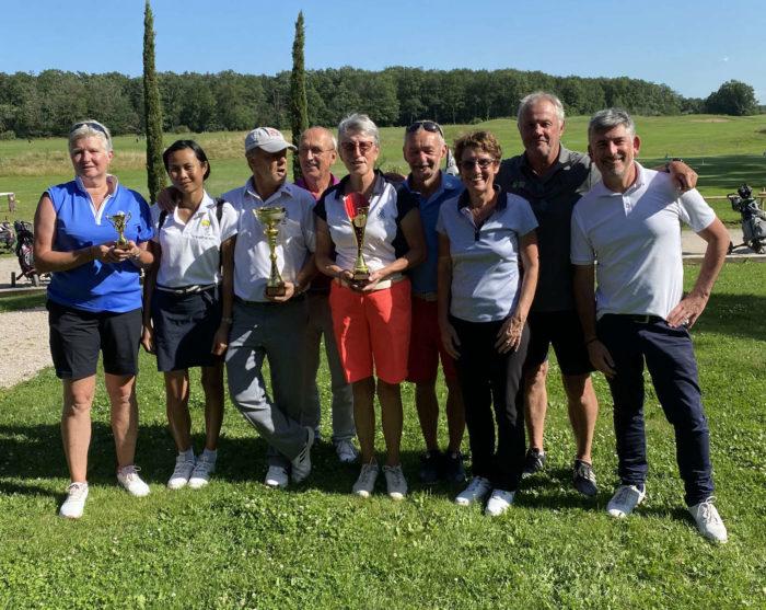 L'equipe de Vichy au trophée Séniors de Montpensier 2021